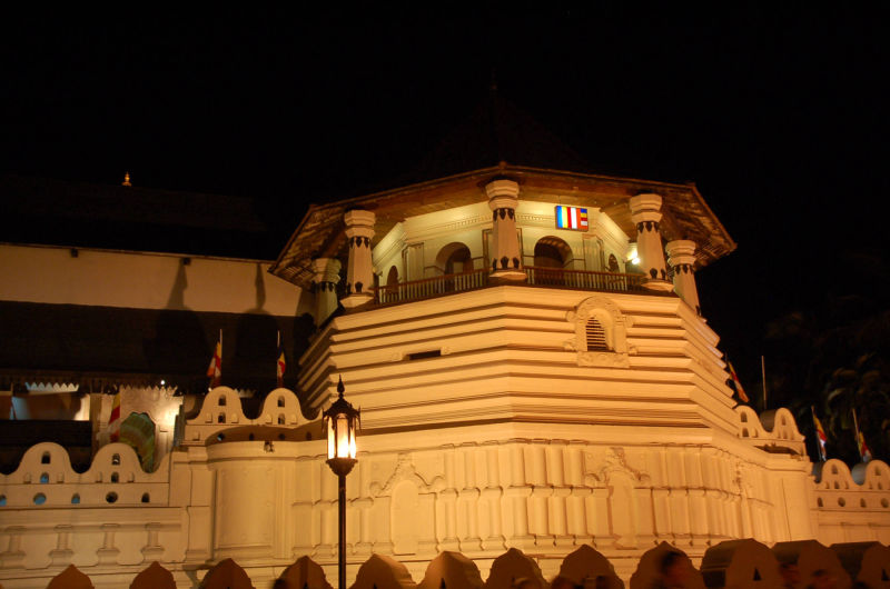 Sri Dalada Maligawa - Zahntempel in Kandy